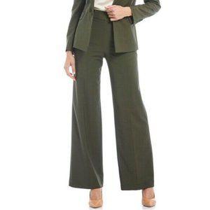 Lafayette 148 Pants High Rise Wool Workwear Size 6